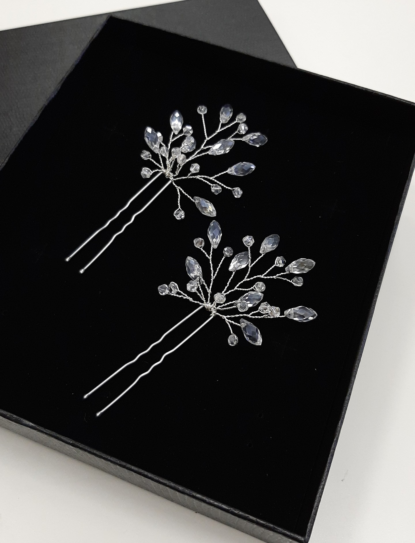 Hairpins, accessories, hairstyle, bridal, silver color, hairpin, evening